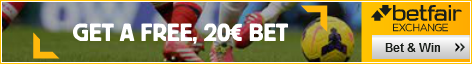 £20 Betfair Free Bet